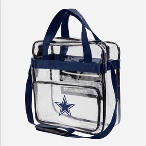 Handbags - DALLAS COWBOY CLEAR CROSSBODY BAG